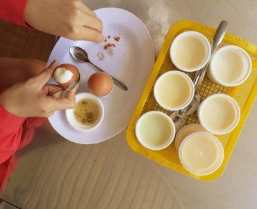 Tại sao các quán ăn Đà Lạt hay phục vụ yaourt?
